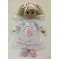 Muñeca de trapo angel