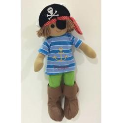 Muñeco de trapo pirata