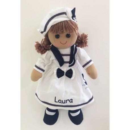 Muñeca de trapo marinera