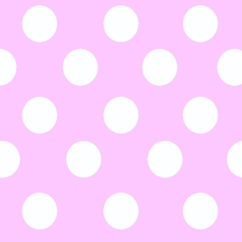 Rosa con lunares blancos